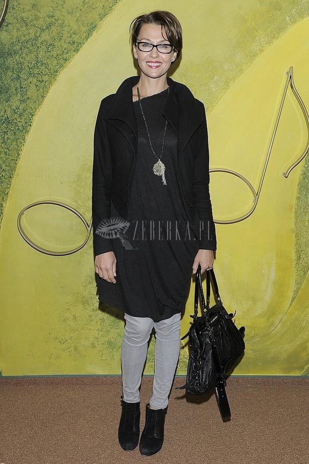 Anna Popek w jesiennej stylizacji