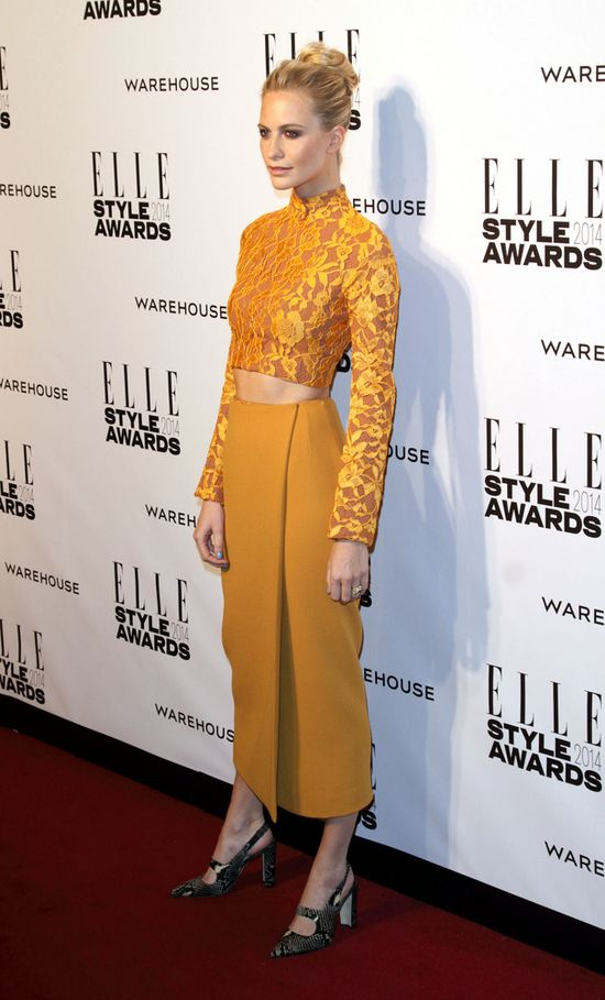 Elle Style Awards 2014 - Poppy Delevingne