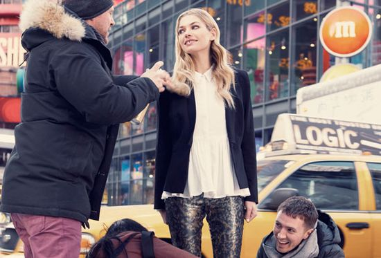 Jessica Hart nową twarzą marki Portmans (FOTO)
