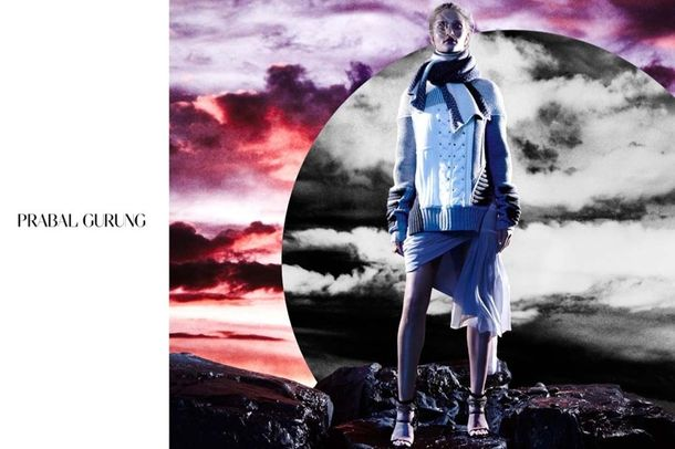 Rosie Huntington-Whiteley dla Prabal Gurung! (FOTO)
