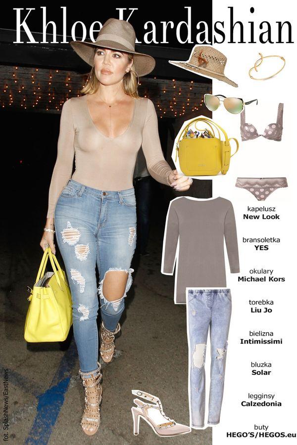 Ubierz się jak Khloe Kardashian, czyli stylizacje inspirowane jej stylem