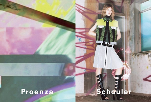 Psychodeliczna kampania marki Proenza Schouler