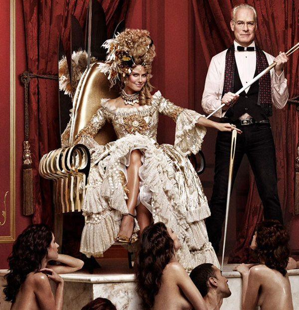 Skandal: Heidi Klum w roli królowej niewolników