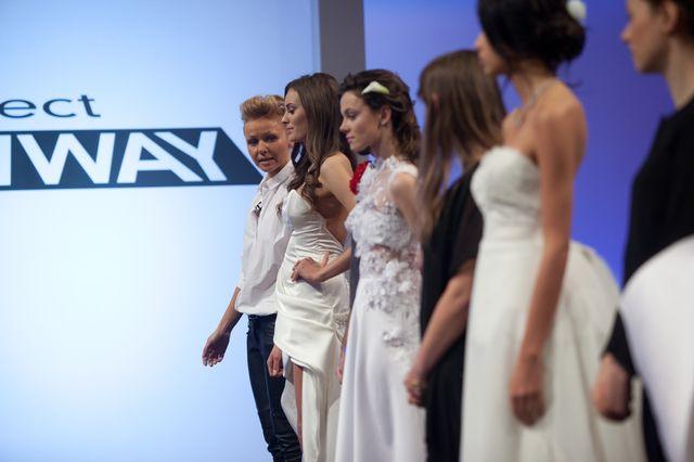 Suknie ślubne tematem 7. odcinka Project Runway (FOTO)