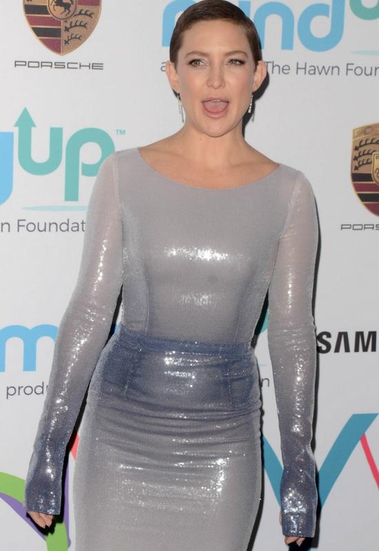 Kate Hudson rozjaśniła swoje super krótkie włosy! Wygląda jak Leonardo DiCaprio?