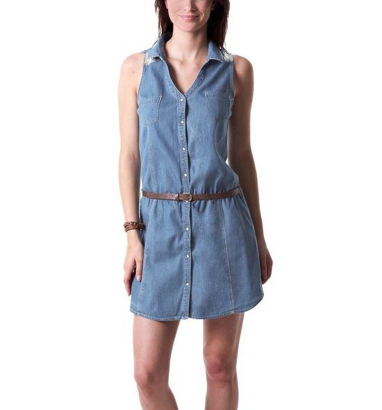 665f2ab0fb Modne tej wiosny - sukienki jeansowe (FOTO) - Zeberka.pl