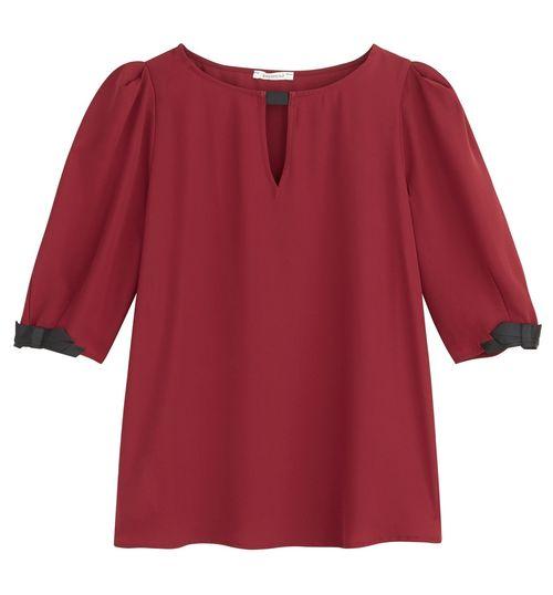 Ubrania i dodatki w kolorze bordo – Przegląd