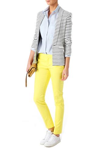 Nowy wiosenney trend Promod - Spodnie w kolorze (FOTO)