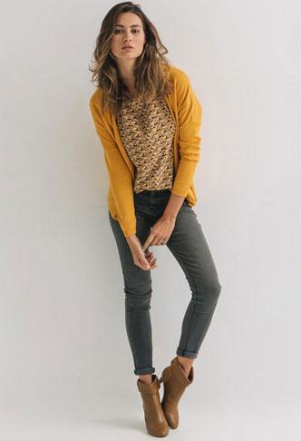 Promod 6 pomysłów na jesienny look - Gotowe stylizacje