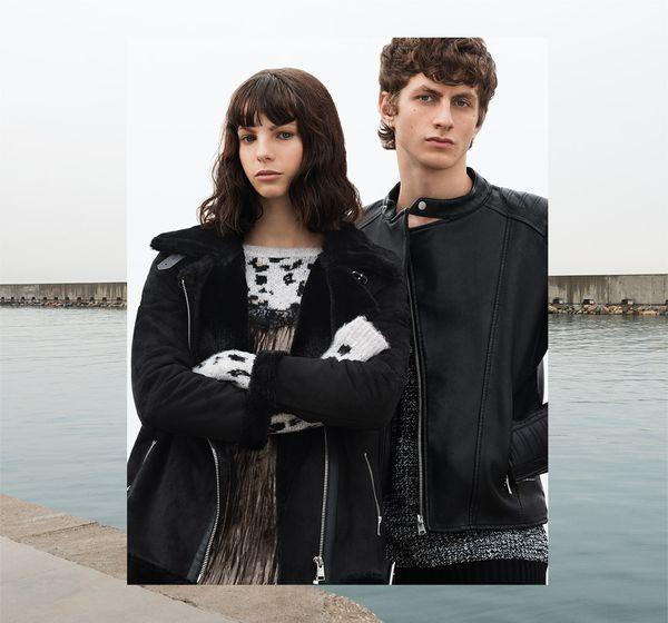 Pull&Bear Outerwear Power - Ciepłe kurtki  imodne płaszcze na zimę 2016