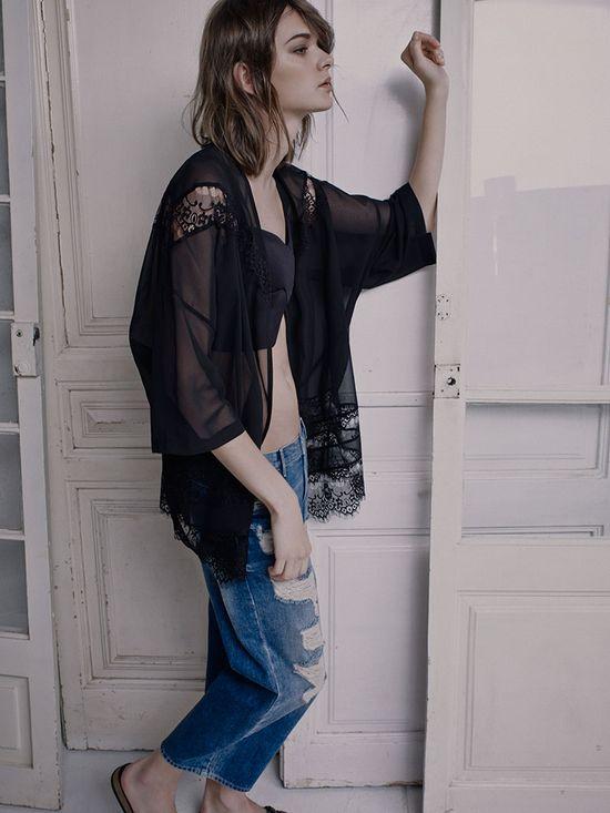 Jeans w roli głównej w nowym lookbooku Pull&Bear (FOTO)