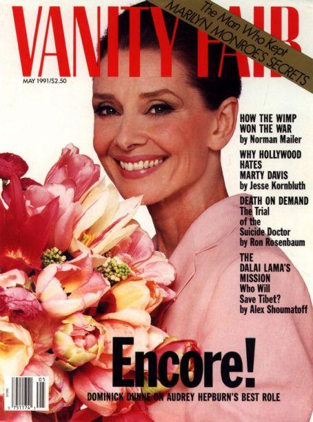 Audrey Hepburn powróciła na okładce Vanity Fair