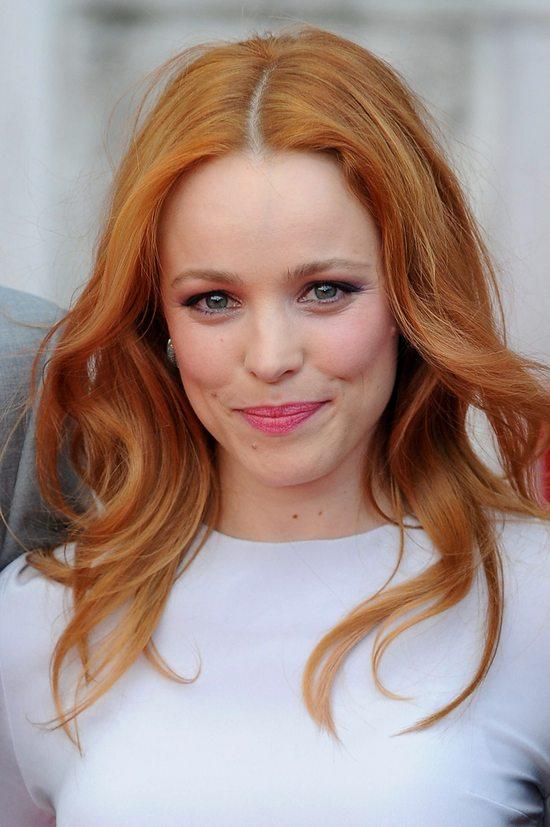 Rachel McAdams przefarbowała się na rudo!