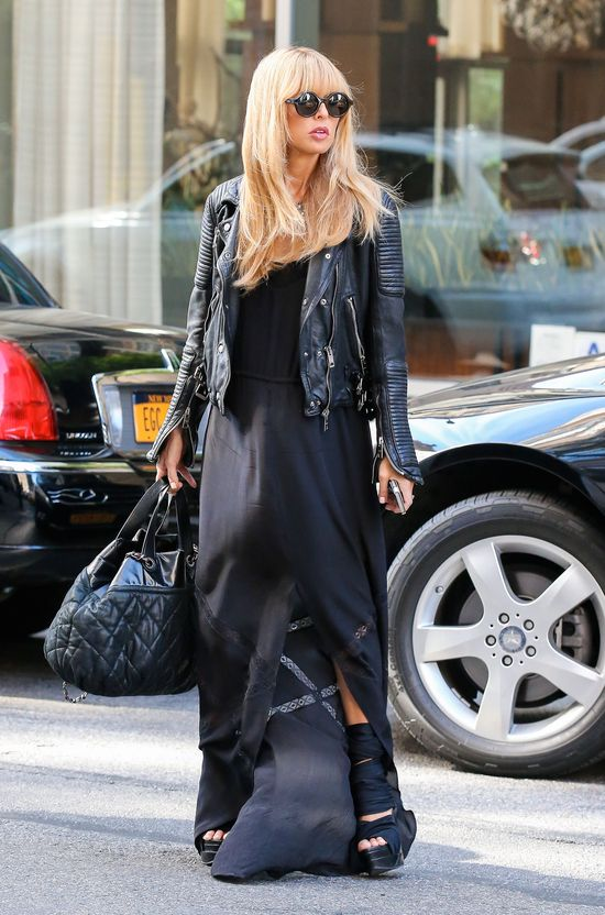 Stylizacje Rachel Zoe na New York Fashion Week 2013