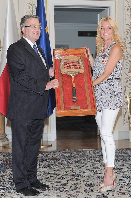 Agnieszka Radwańska w eleganckim wydaniu (FOTO)