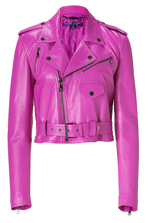 Jessica Alba w różowej kurtce Ralph Lauren (FOTO)