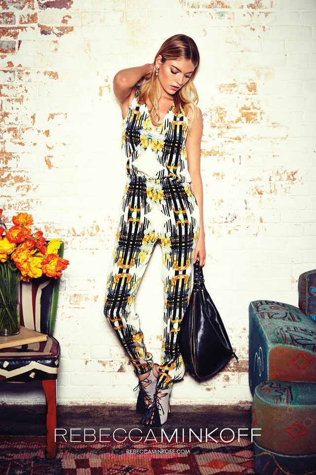 Rebecca Minkoff - kolorowa kolekcja wiosna-lato 2014