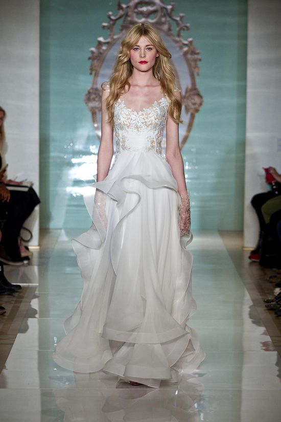 Reem Acra - cudowne suknie ślubne na 2015 rok (FOTO)