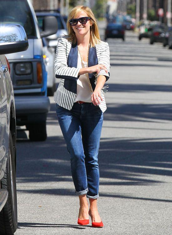 Reese Witherspoon w marynarskich kolorach