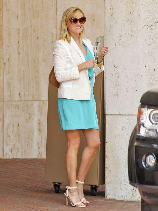 Reese Witherspoon letniej sukience