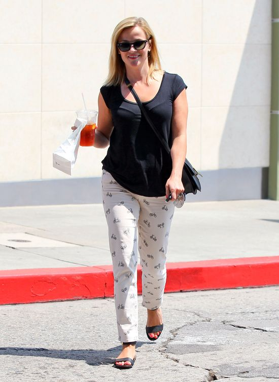 Gwiazdy uwielbiają jeansy w rowery od  Kylie Crop