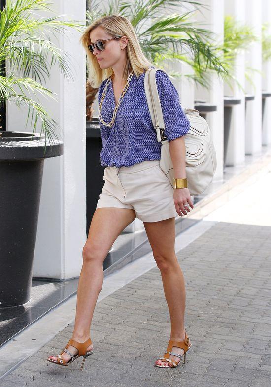 Reese Witherspoon w dwóch stylizacjach