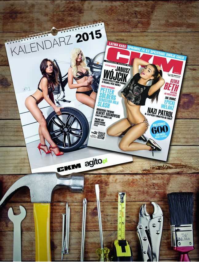 Kalendarz CKM i Agito na 2015 rok już w kioskach!