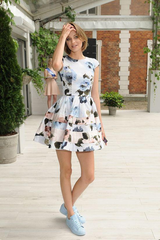Tak wygląda dziewczyna Kuby Wojewódzkiego na pokazie mody