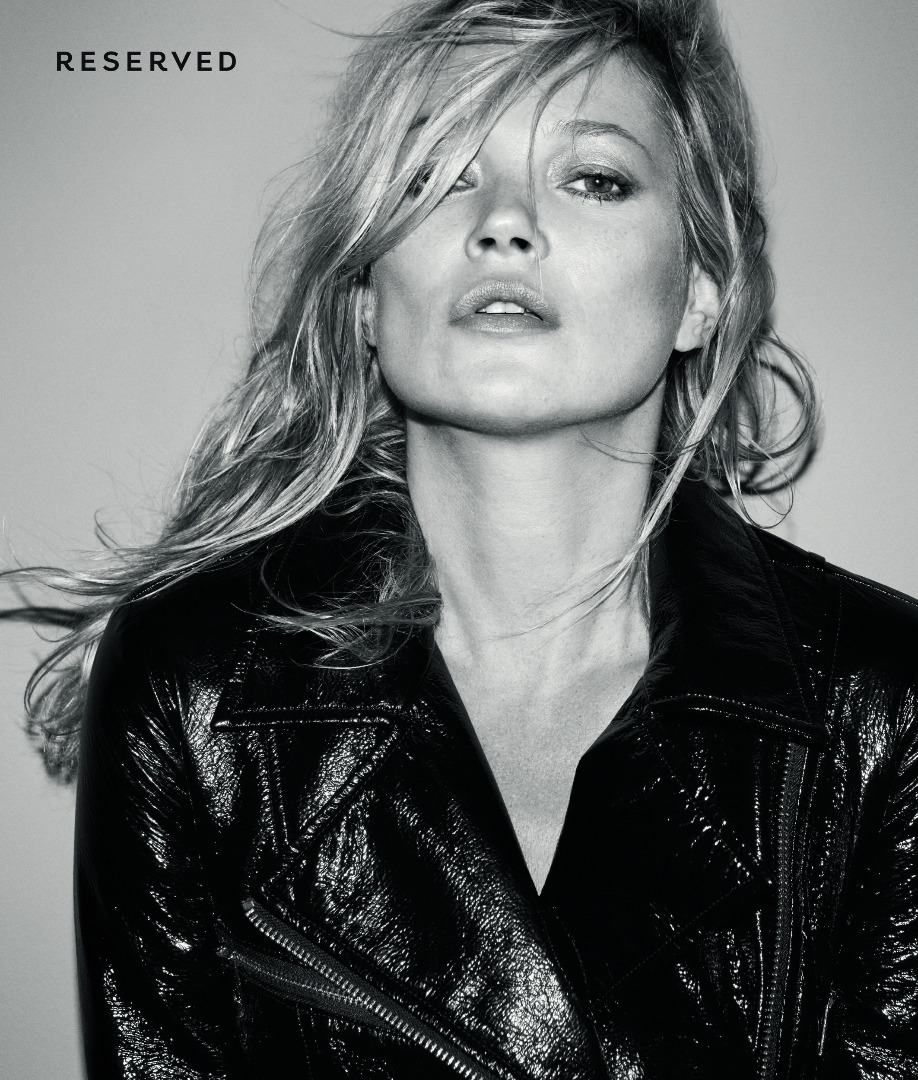 Już jest! Zobaczcie kampanię reklamową Reserved x Kate Moss! (HOT FOTO)