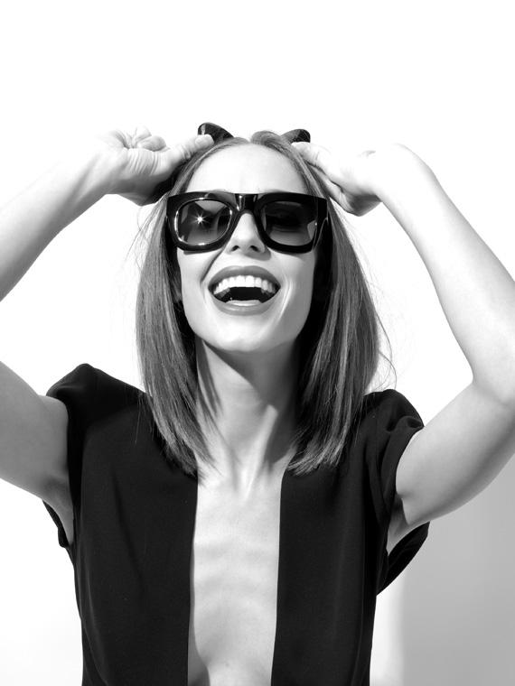 Nowy hit wśród blogerek: kocie okulary