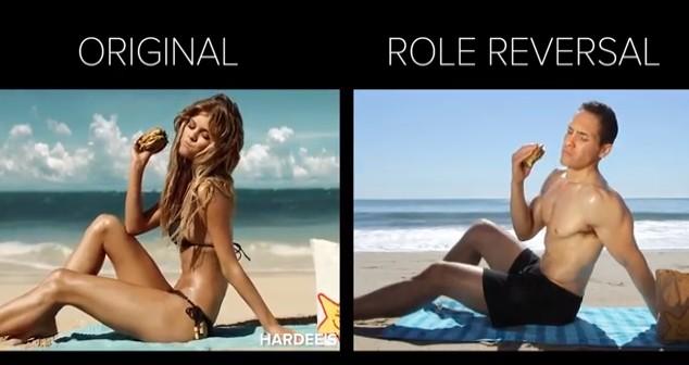 A gdyby tak panowie odegrali rolę pań w reklamie? (VIDEO)