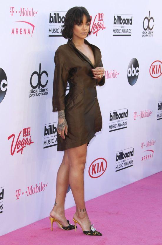Rihanna pokazała, że nie tylko stylowo się rozbiera, ale i ubiera