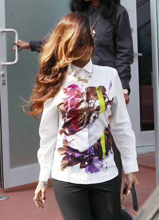 Nowa fryzura Rihanny (FOTO)