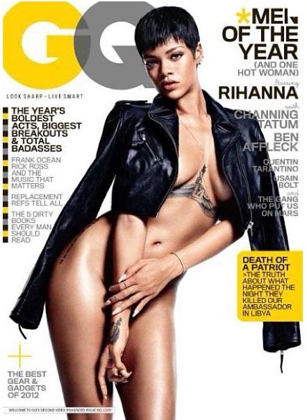 Rihanna na okładce GQ