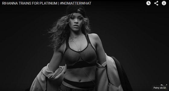 Rihanna reklamuje najnowszą kolekcję marki Puma