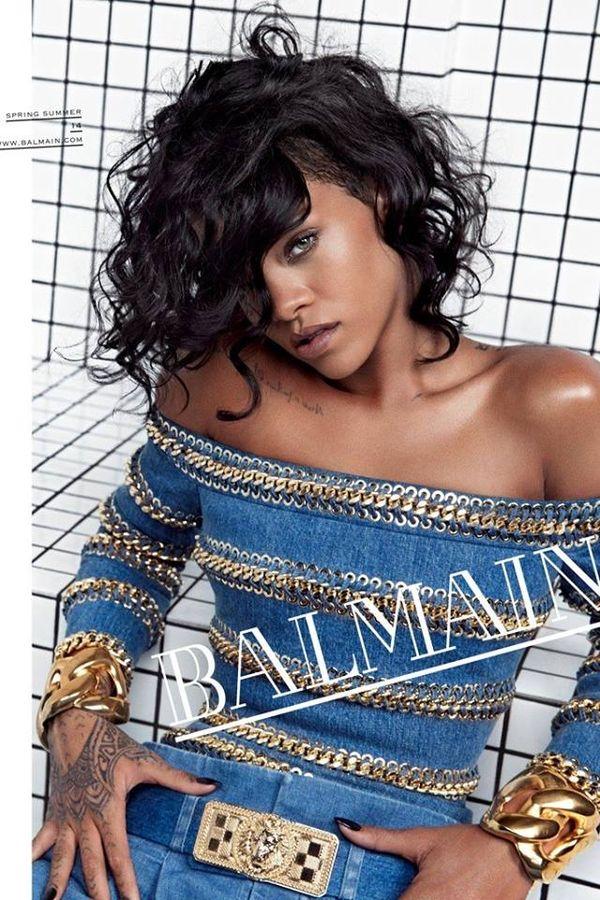 Rihanna w wiosenno-letniej kampanii Balmain! (FOTO)