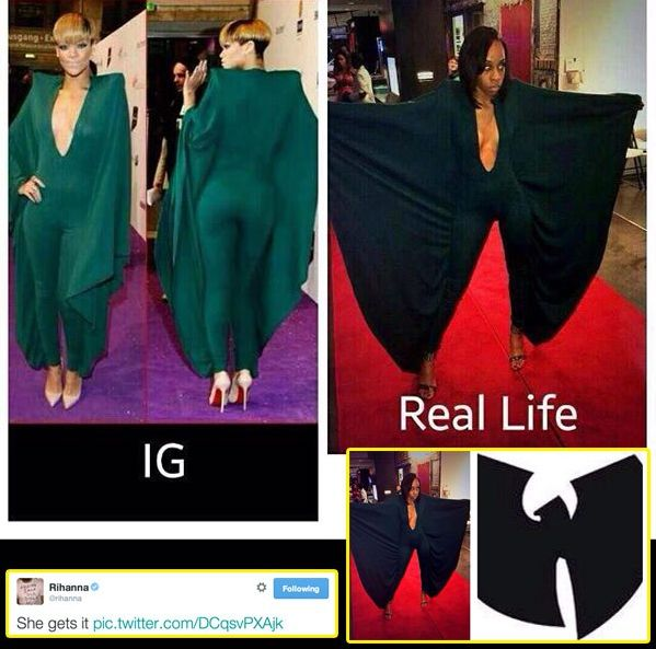 Rihanna wyśmiała nastolatkę za jej kreację! Przesadziła?