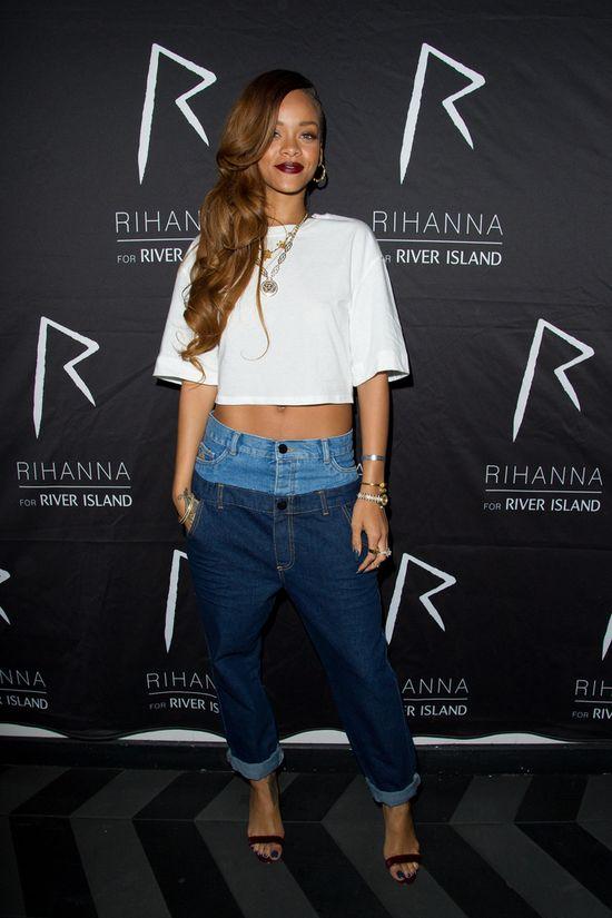 Rihanna w ubraniach swojego projektu (FOTO)