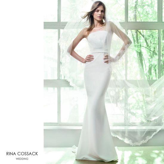Romantyczne suknie ślubne od Riny Cossack na 2016 rok (FOTO)