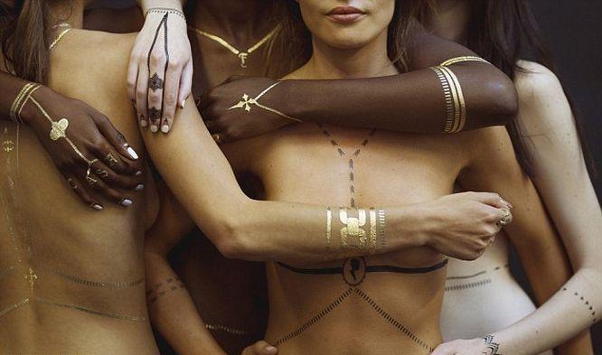 Rihanna projektantką... tatuaży? Zobaczcie jej nową kolekcję