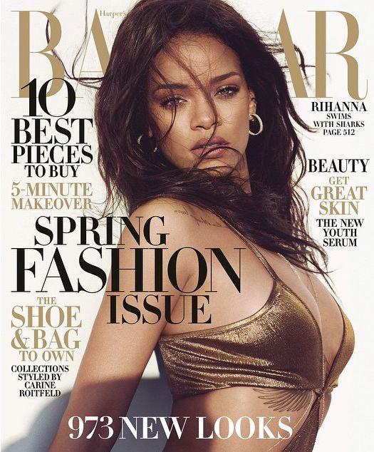 Rihanna zachwyca w Harper's Bazaar (FOTO)