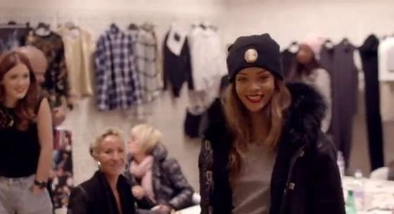 Rihanna dla River Island - kolekcja na jesień 2013 (VIDEO)