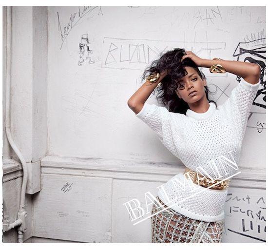 Rihanna dla Balmain - nowe fotki! (FOTO)
