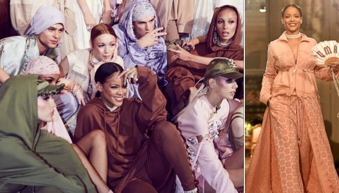Rihanna zaprezentowała swoją kolekcję Fenty x Puma (FOTO)