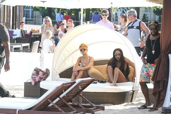 Rihanna na sopockiej plaży (FOTO)