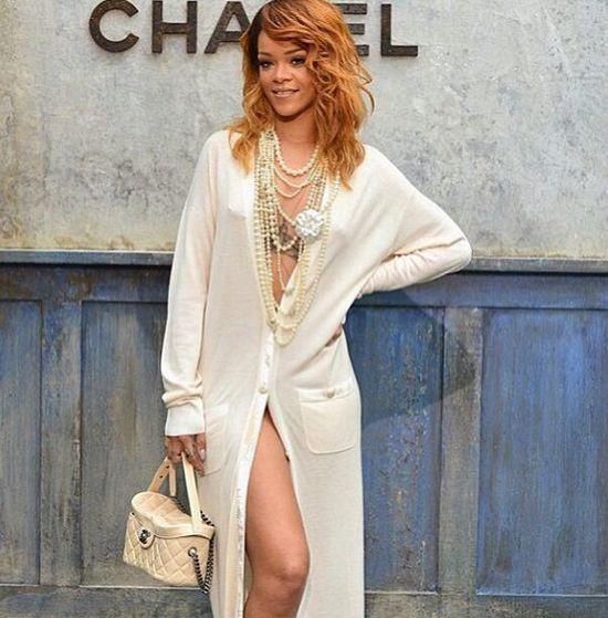 Kto jest ikoną stylu dla Rihanny?