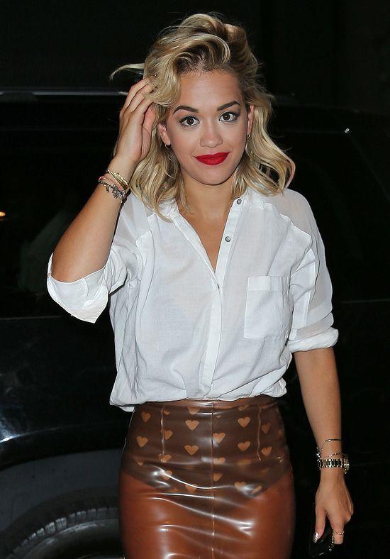 Rita Ora w Burberry Prorsum (FOTO)