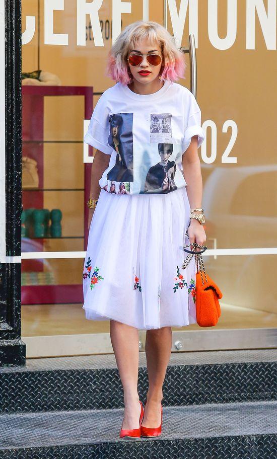 Rita Ora i jej nowy kolor włosów (FOTO)