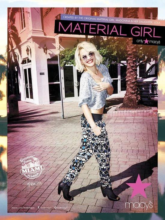 Rita Ora w wiosennej kampanii Material Girl (FOTO)