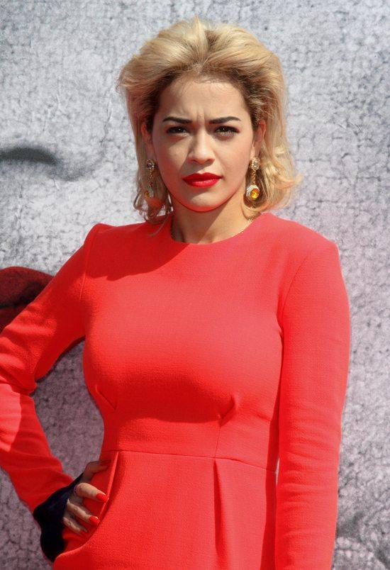 Rita Ora w czerwieni (FOTO)